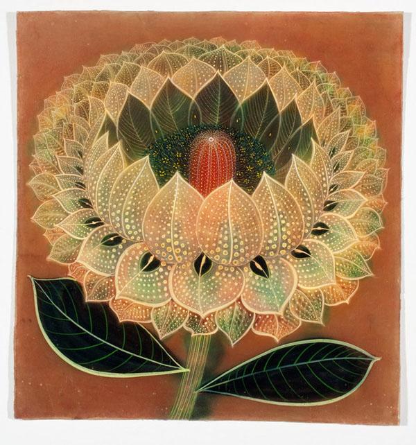 Рисунок ламината двух цветов 64