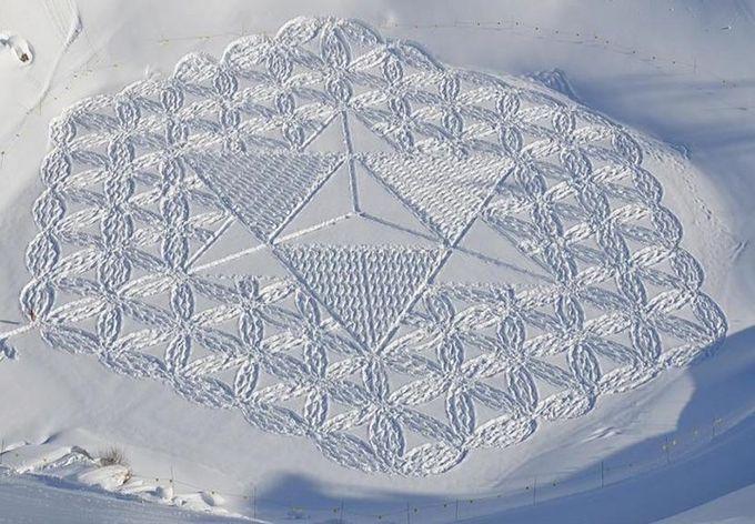 узоры на снегу фото (680x472, 83Kb)