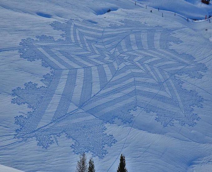 узоры на снегу фото 2 (680x552, 82Kb)