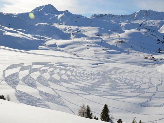узоры на снегу фото 4 (680x510, 66Kb)