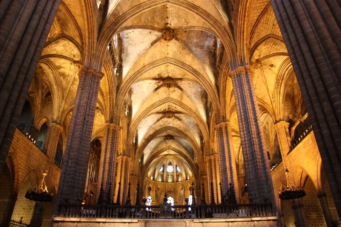 Spain-Barcelona-Catedral de la Santa Cruz y Santa Eulalia -2012-Изображение 950 (700x466, 282Kb)