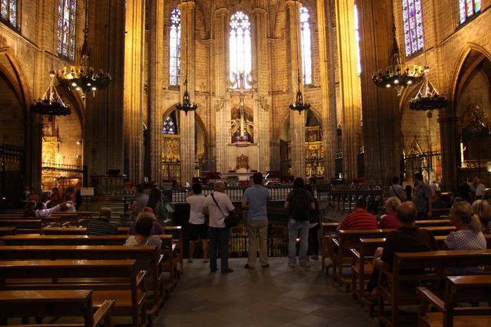 Spain-Barcelona-Catedral de la Santa Cruz y Santa Eulalia -2012-Изображение 982 (700x466, 271Kb)