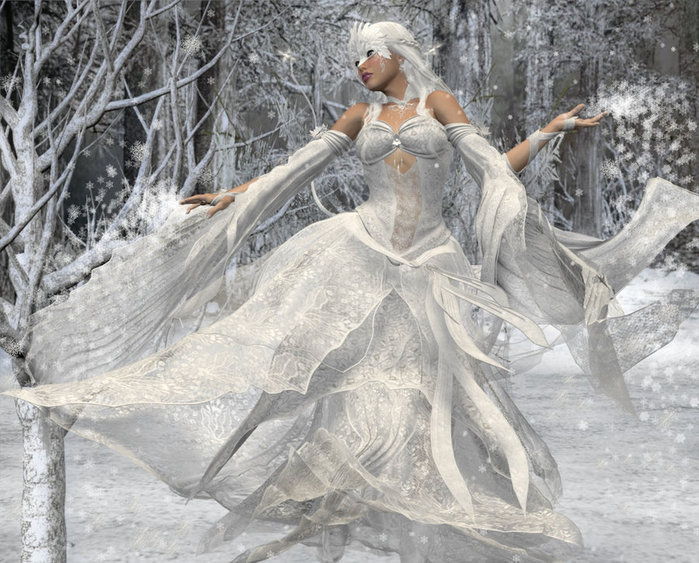 The_Queen_of_Winter_by_Evindar_by_SmithMicro (700x563, 120Kb)