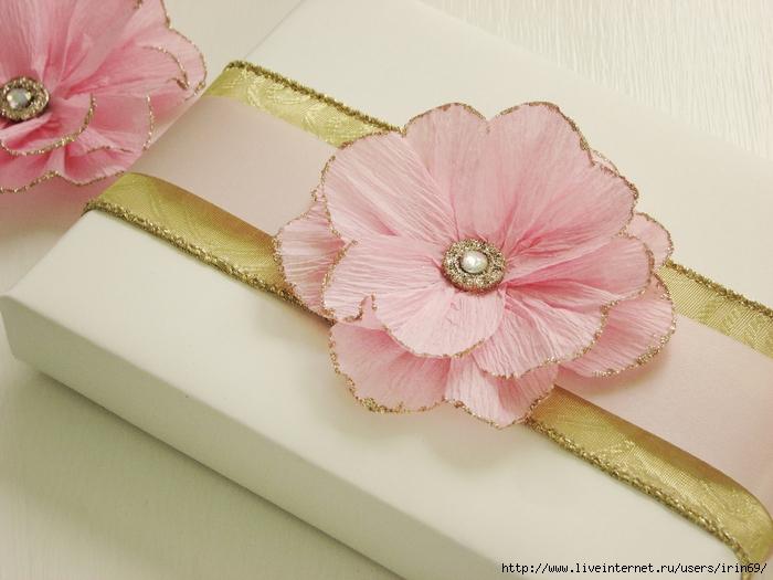 Картинки цветы из гофрированной бумаги 5