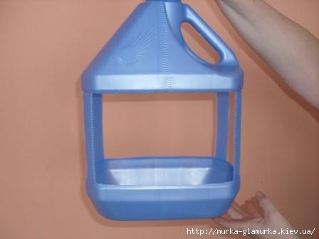 Кормушка из пластиковой канистры своими руками