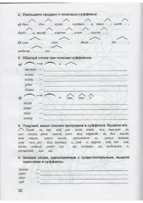 3 полникова класс по дидактическая гдз русскому тетрадь