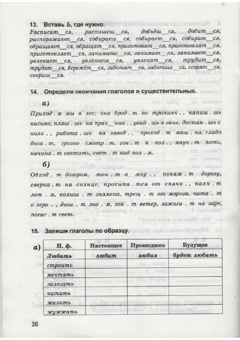 По русскому язык 4 класс рабочая тетрадь м.ю.полникова решебник
