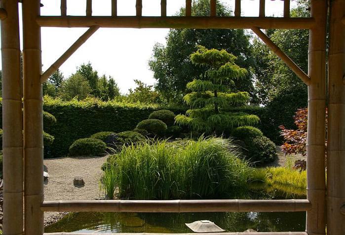 Бад Цвишенан : Park der Garten 11013