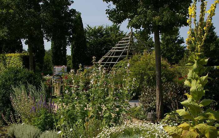 Бад Цвишенан : Park der Garten 96771
