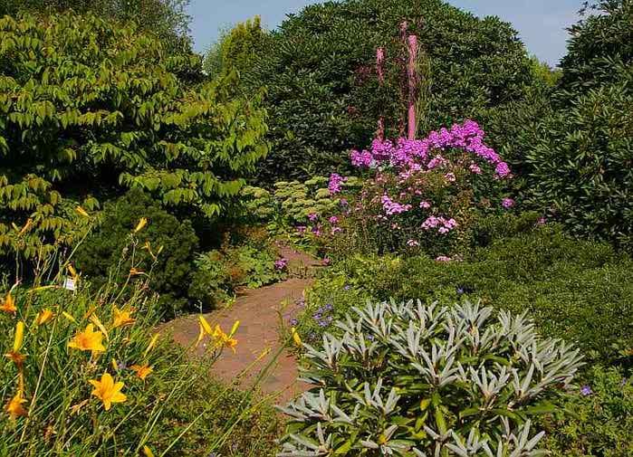 Бад Цвишенан : Park der Garten 72674