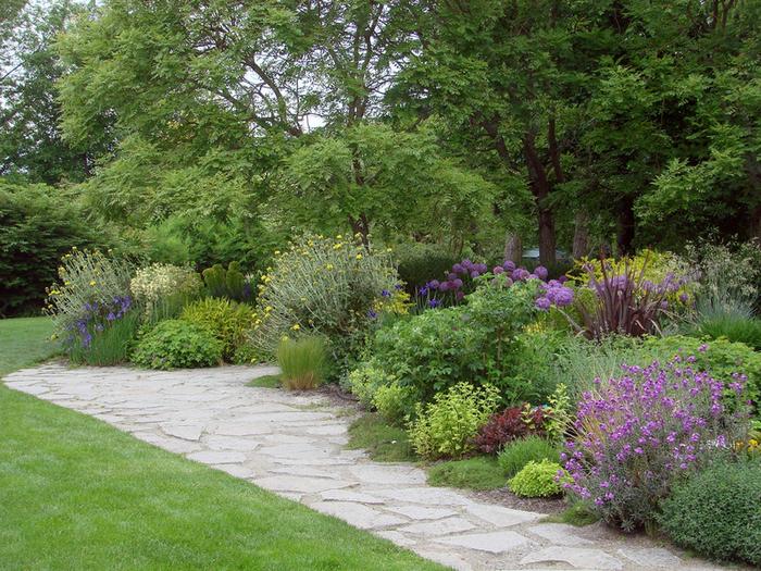 """Слово  """"миксбордер """" прочно обосновалось в лексиконе садоводов.  Так называют смешанный цветник, располагающийся вдоль..."""