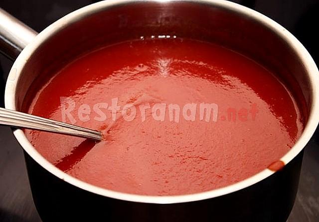 Как сделать домашнюю томатную