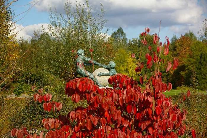 Бад Цвишенан : Park der Garten 41769