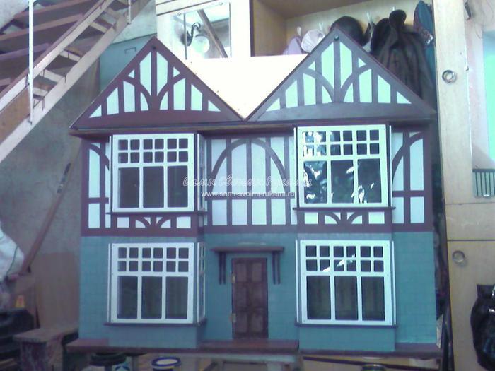 Крыша для кукольного домика своими руками 7