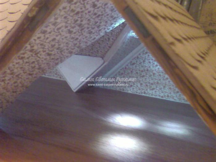 Крыша для кукольного домика своими руками 99