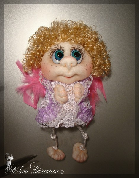Нива Мастер класс кукла из капрона своими