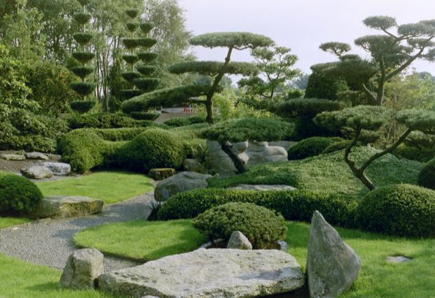Бад Цвишенан : Park der Garten 12535