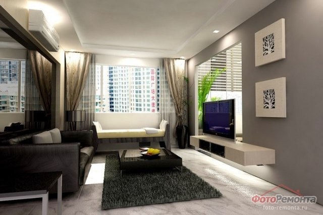 Living Room Design For Small House In The Philippines