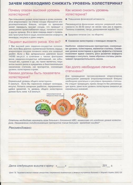 Нестенозирующий и стенозирующий атеросклероз