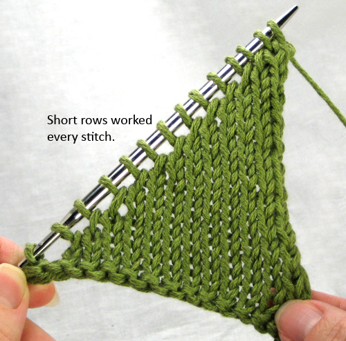 俄网的棒针基础教程 10:如何无缝隙针织弯角 - maomao - 我随心动