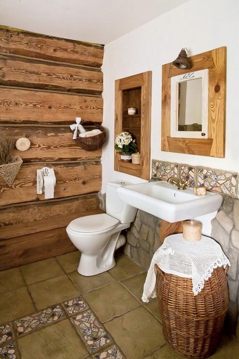 Дизайн деревенского дома своими руками внутри фото