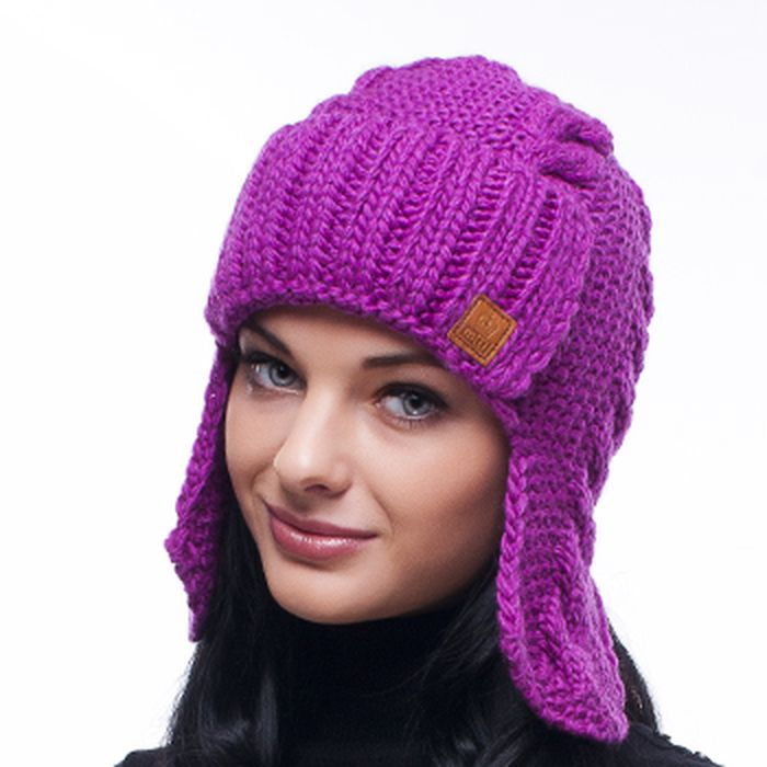 вязаные женские шапки, шарфы