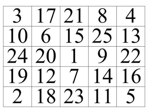 Таблицы для проверки зрения и для упражнений mp4