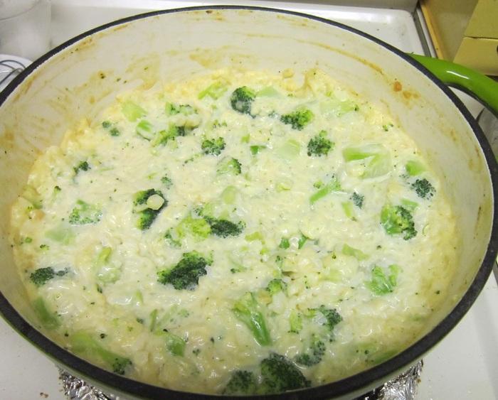 запеканка с брокколи и рисом (700x563, 124Kb)