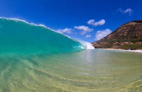 Sandy Beach Park, остров Оаху, Гавайи (480x310, 25Kb)