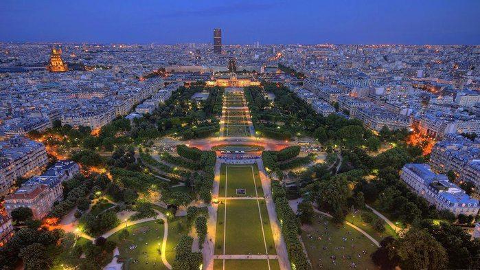 Париж, Франция (700x393, 84Kb)