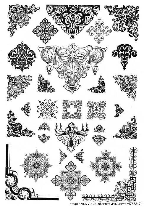 картинки узоры и орнаменты
