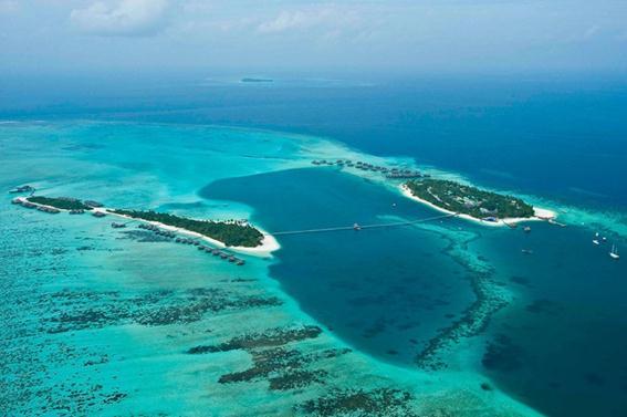 Самый лучший отель в мире находится на Мальдивах. Фотографии