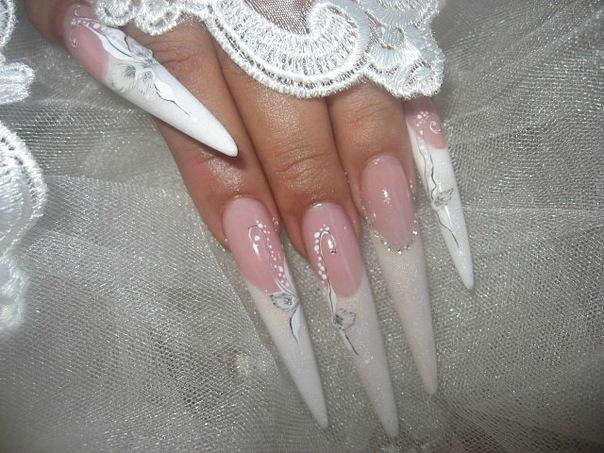 Дизайны свадебных ногтей фото
