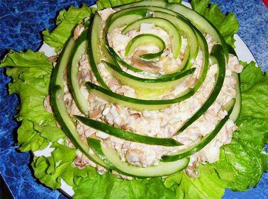 салаты из селедки рецепты с фото