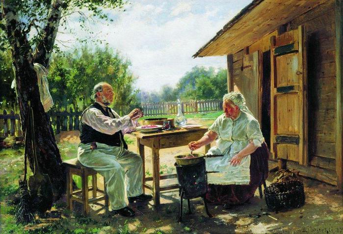 Варят варенье, 1876 (700x477, 82Kb)