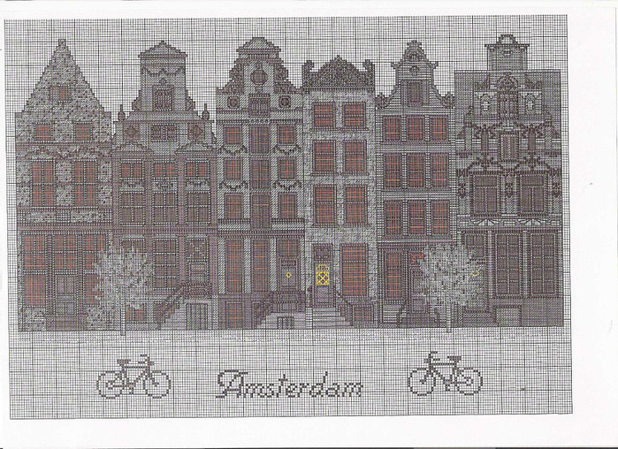 Вышивка амстердам схема