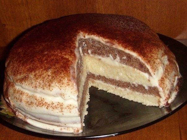 Тортик на кефире (604x453, 67Kb)