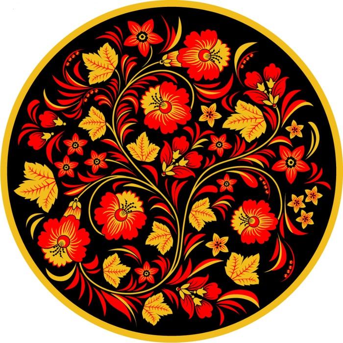 Хохлома картинки цветы 7