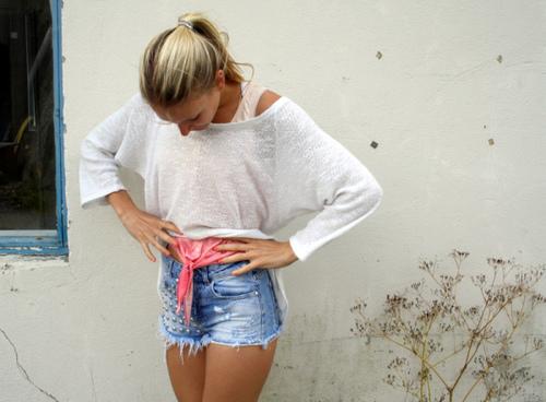Модные шорты 2013 стильные женские