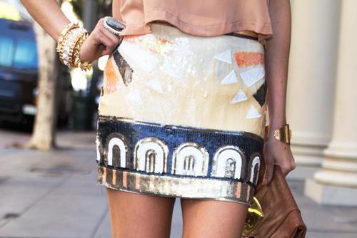 модные летние юбки 2013
