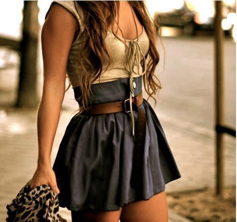 стильные юбки 2013