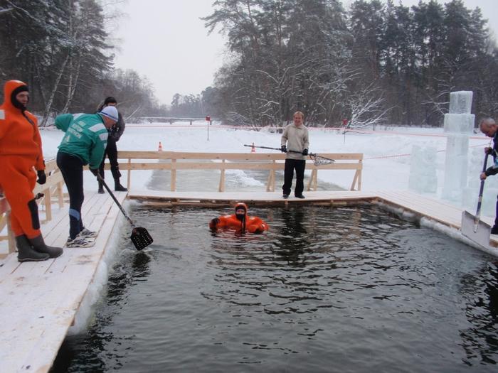 Москва готовится к Крещению  - фото 22