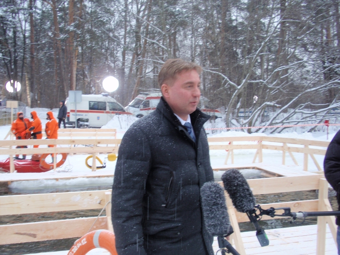 Москва готовится к Крещению  - фото 26