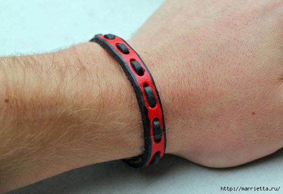 Как сделать браслет для мужчины своими руками