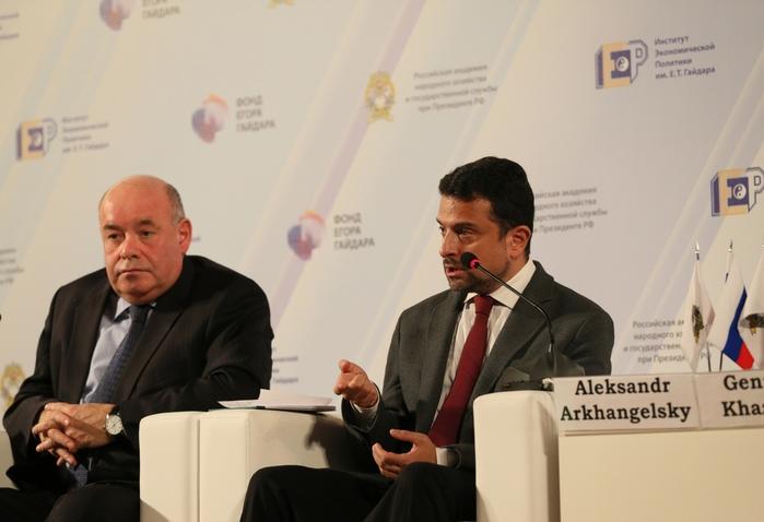 Пленарная дискуссия «Экономика культуры» на Гайдаровском форуме-2013 - фото 1