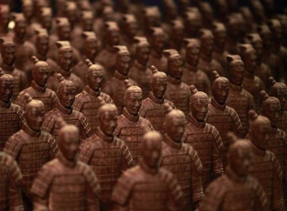 Сладкий шоколадный парк в Шанхае, Китай