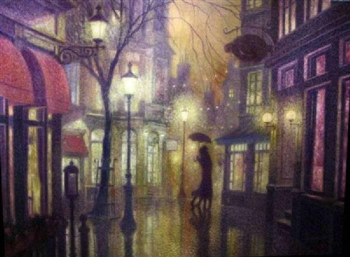 Denis Nolet 1964 - Canadian Figurative painter - Night Tango in Paris (11) (699x514, 54Kb)