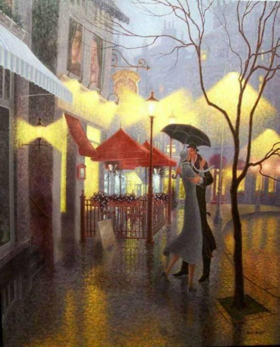Denis Nolet 1964 - Canadian Figurative painter - Night Tango in Paris (17) (565x700, 58Kb)