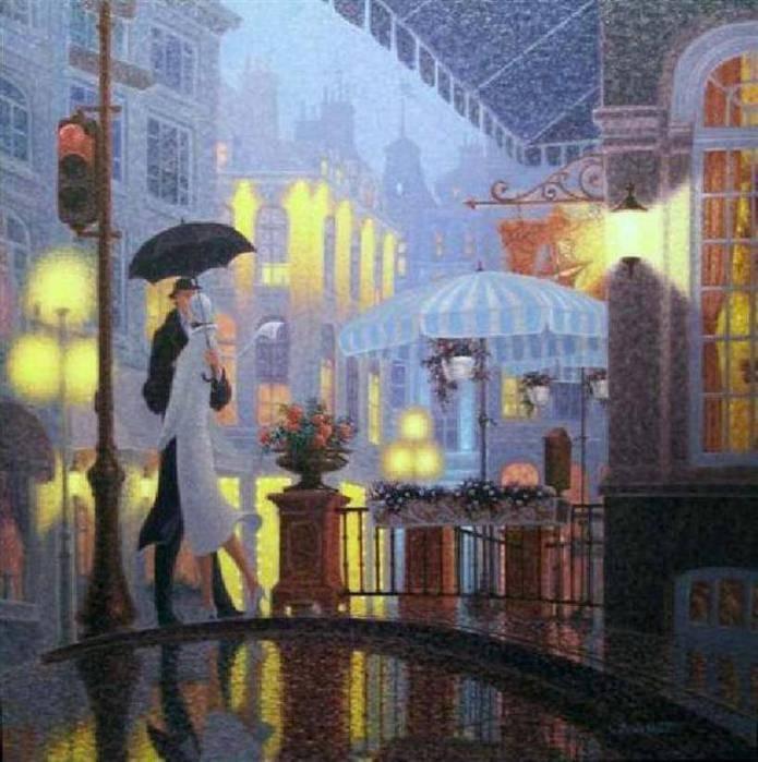 Denis Nolet 1964 - Canadian Figurative painter - Night Tango in Paris (22) (695x700, 67Kb)
