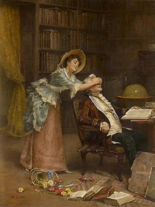 John Arthur Lomax (British, 1857-1923) (524x700, 280Kb)